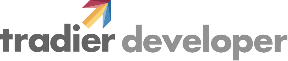 Tradier developer logo